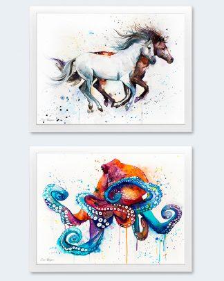 Акварелни картини от Славейка Аладжова