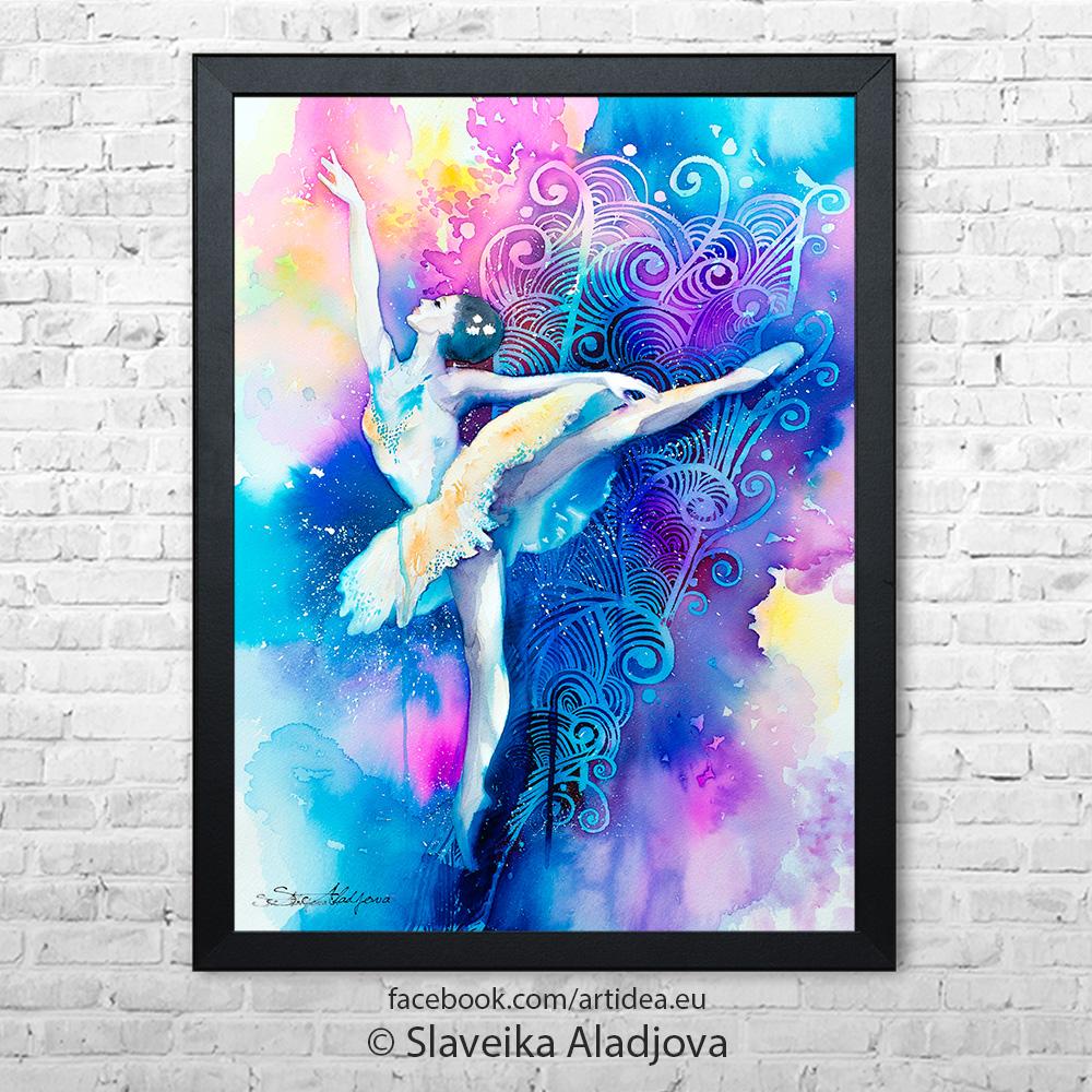 Картина - Балерина 1