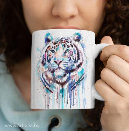 Чаша Белия тигър – художник Славейка Аладжова