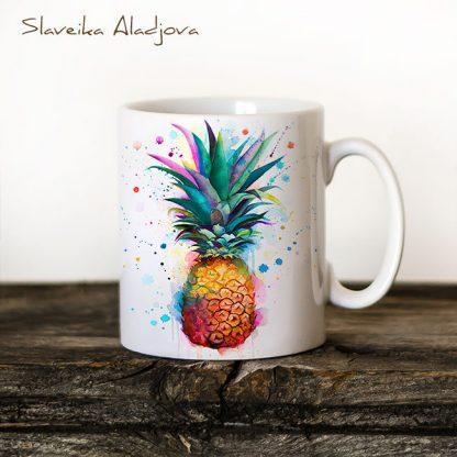 Чаша ананас
