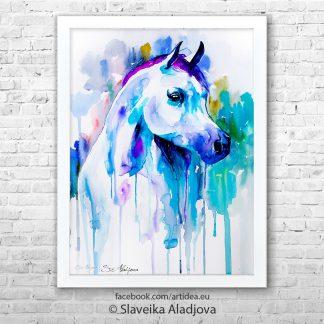 Картина - Арабски кон