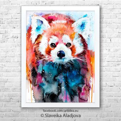 Картина Червена панда