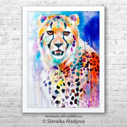 картина гепард