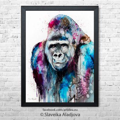 Картина горила