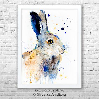 Картина заек 2