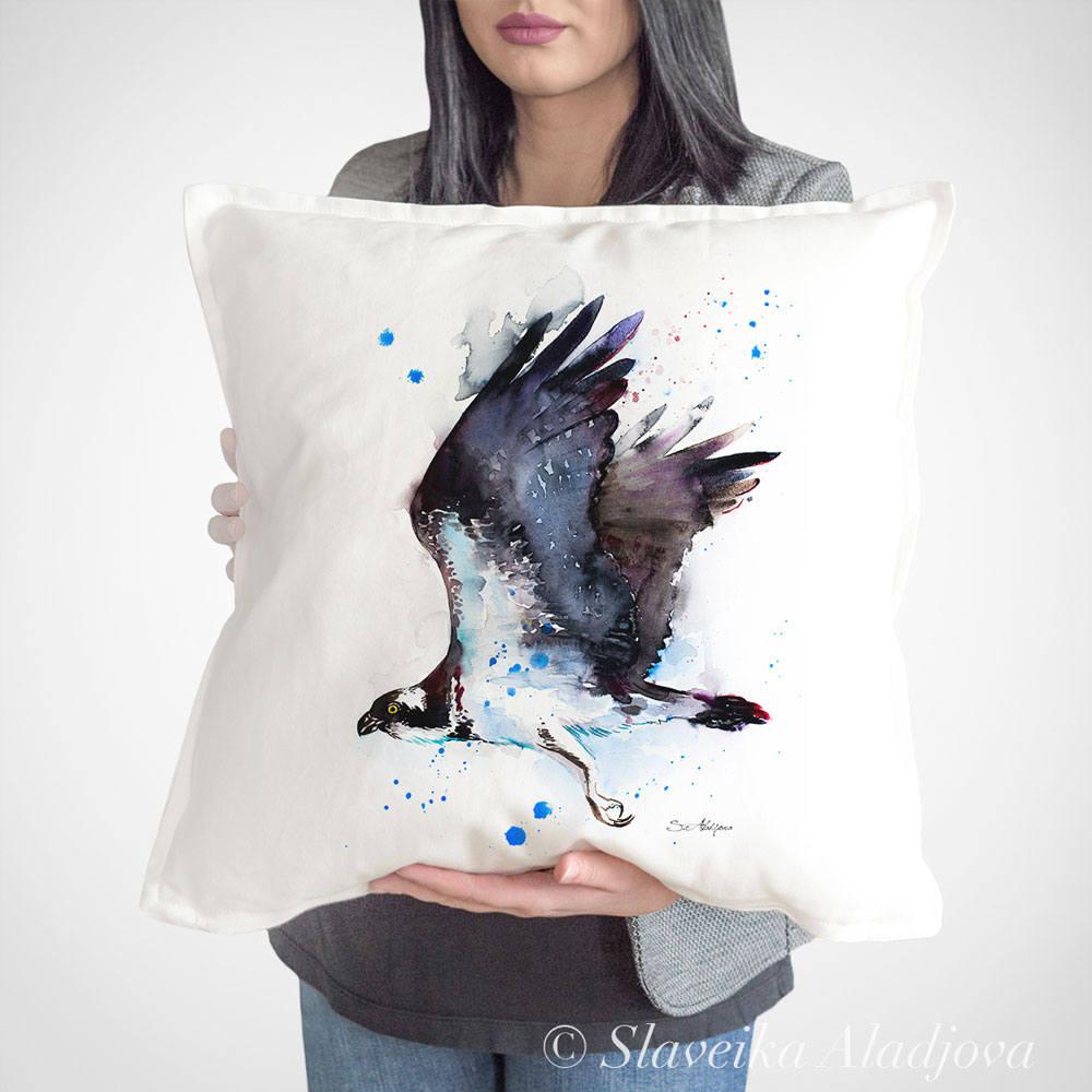 възглавница орел рибар