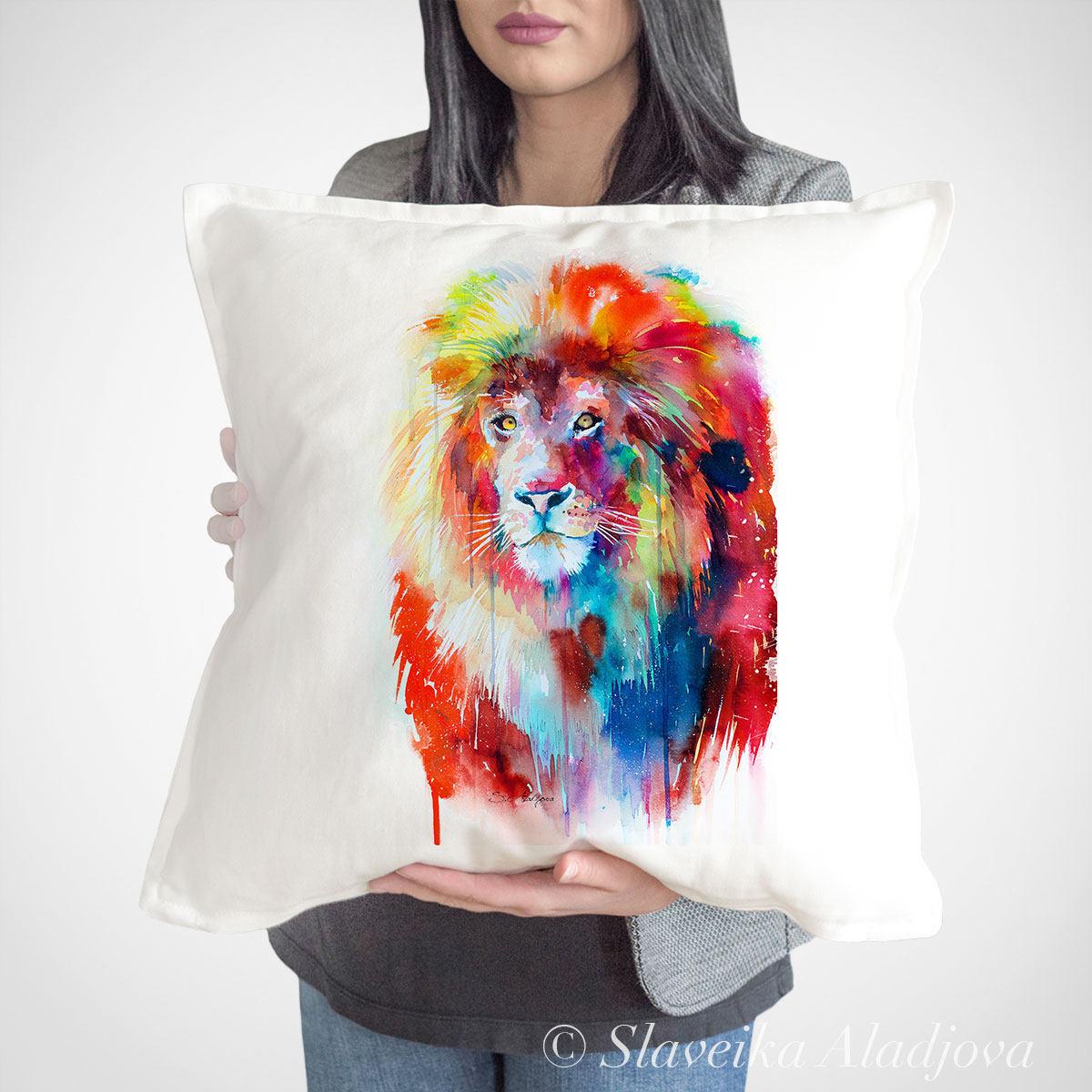 възглавница с лъв