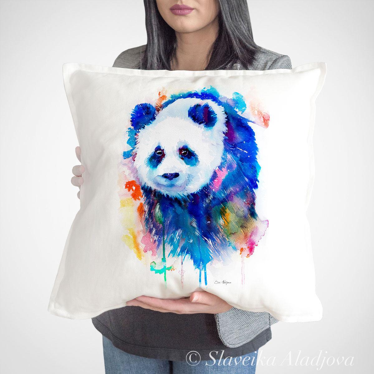 Декоративна възглавница панда