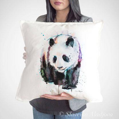 Декоративна възглавница панда 3