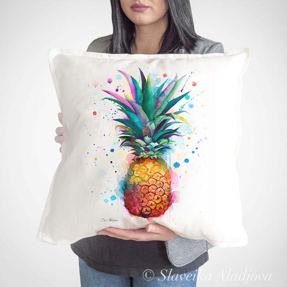 възглавница с ананас