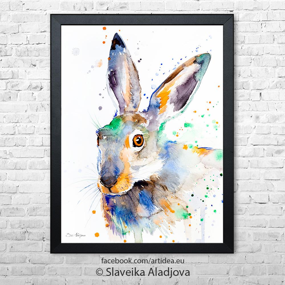 Картина заек