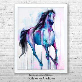 картина кон