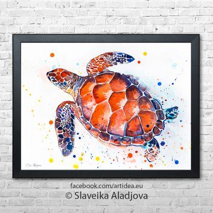 Картина костенурка 2