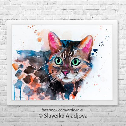 Картина котка 2
