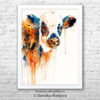 картина крава 2