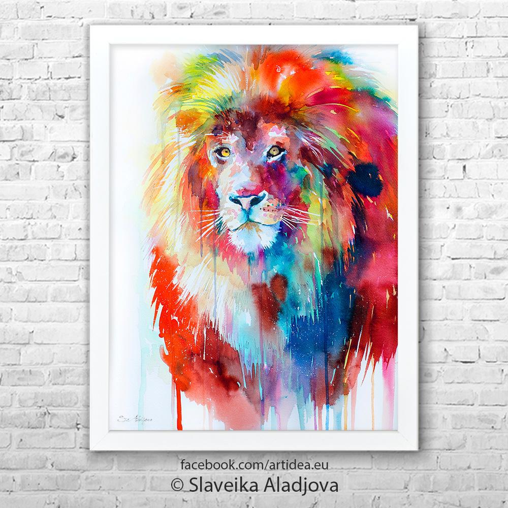 Картина лъв