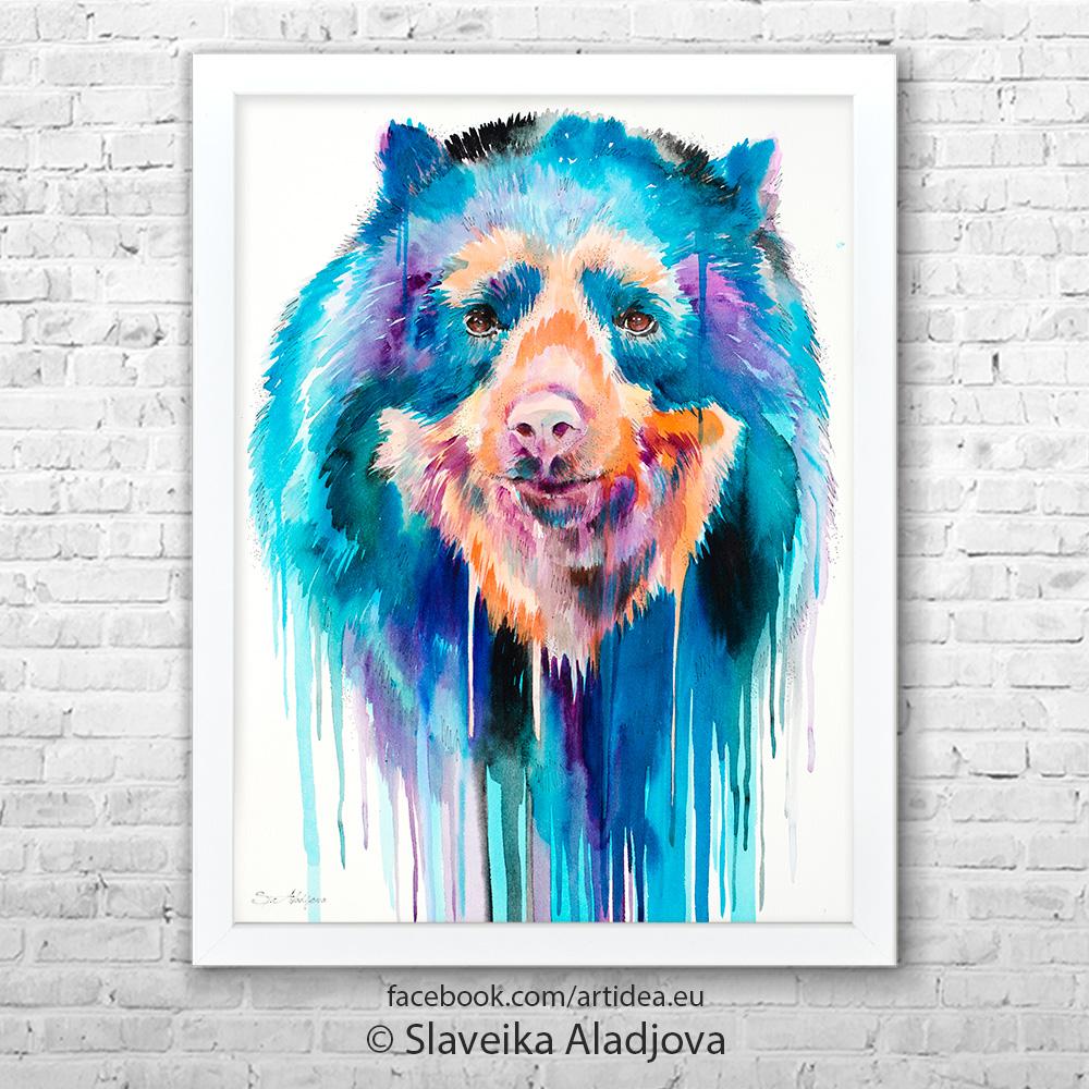 Картина черна мечка 2