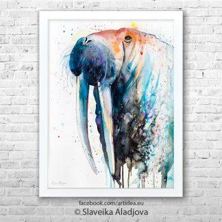 картина на морж