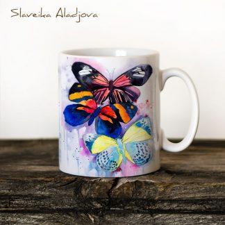 Чаша Пеперуди - художник Славейка Аладжова
