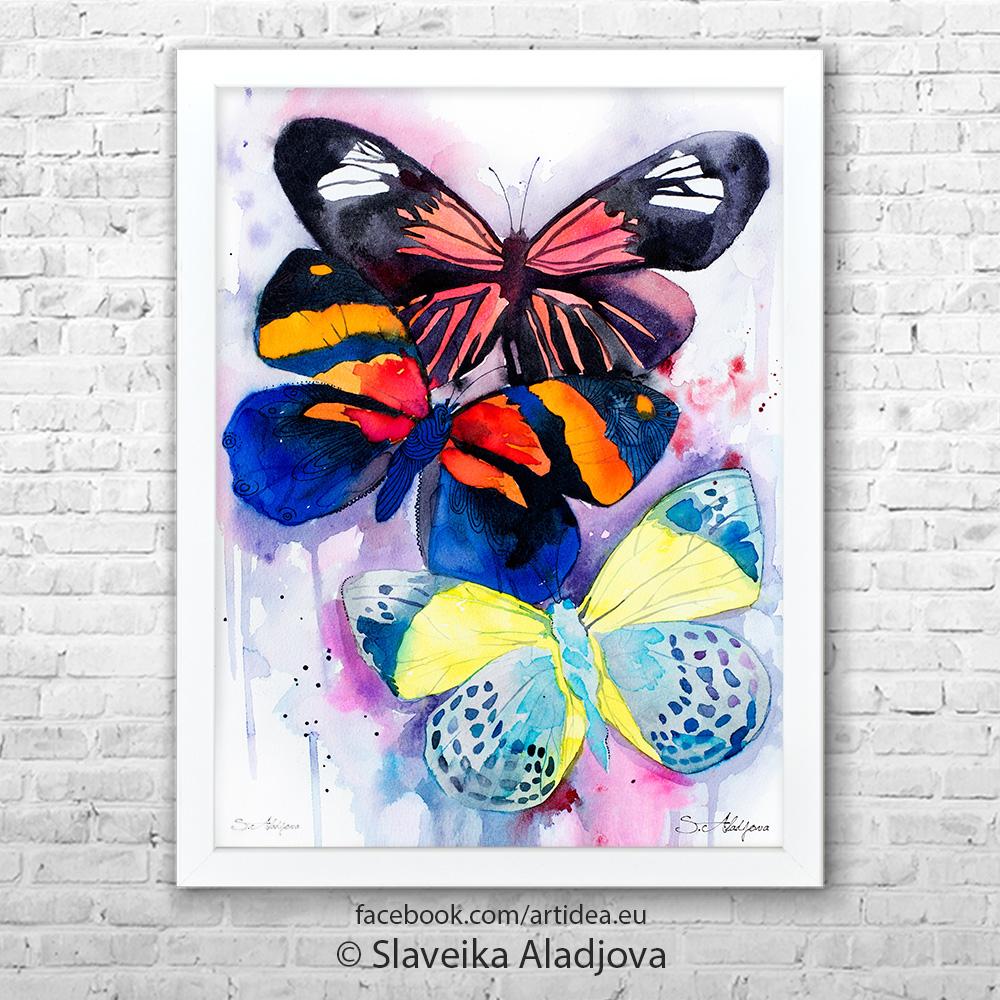 Картина пеперуди