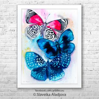 Картина пеперуди 2