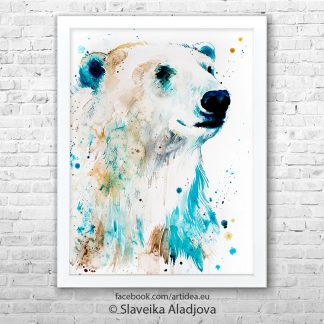Картина полярна мечка 2