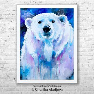 Картина полярна мечка