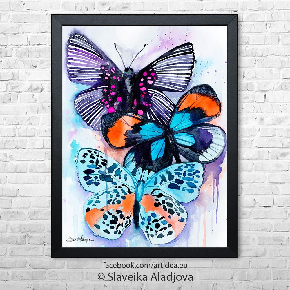 Картина пеперуди 3
