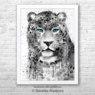 Картина леопард 2