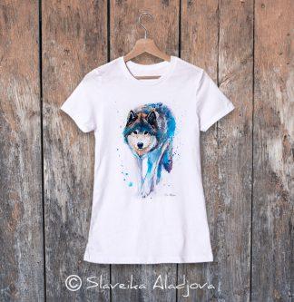 Дамска тениска - Ходещ вълк