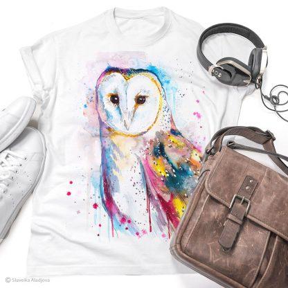 Тениска със сова