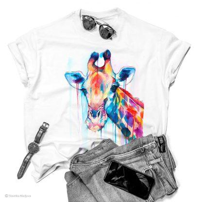 Тениска с жираф