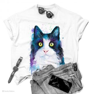 Тениска с котка