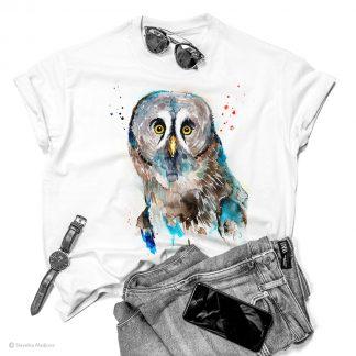 Тениска със сова бухал