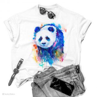 Тениска с панда