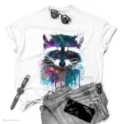 Тениска с енот