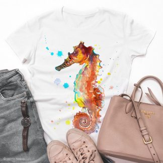 Унисекс тениска с морско конче