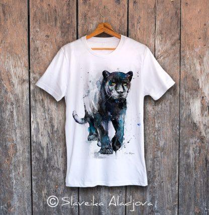Мъжка тениска Черна пантера