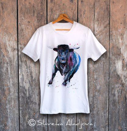 мъжка тениска бик