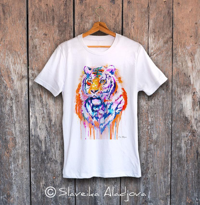 мъжка тениска тигър