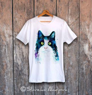 мъжка тениска котка 2