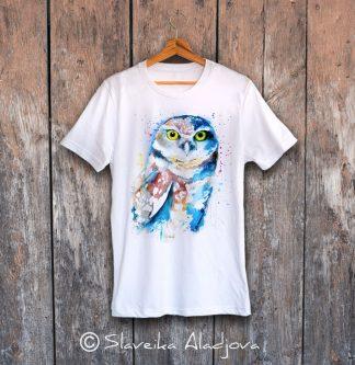 мъжка тениска сова 2