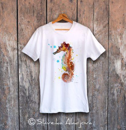 мъжка тениска морско конче 2