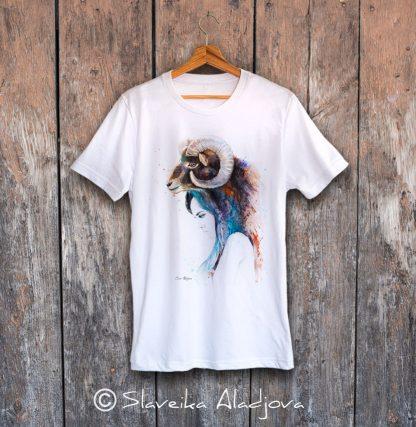 тениска жена с овен