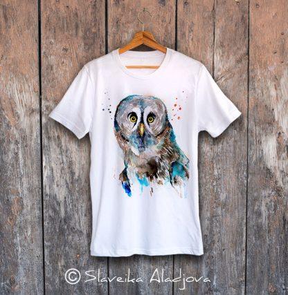 мъжка тениска сова 3