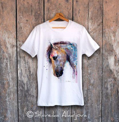 мъжка тениска кон 2