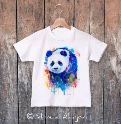 Детска тениска панда