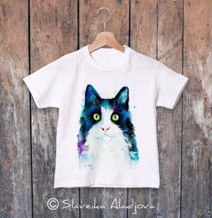 детска тениска котка 2