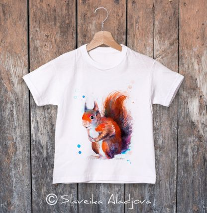 Детска тениска катеричка
