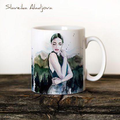 чаша жена планинска